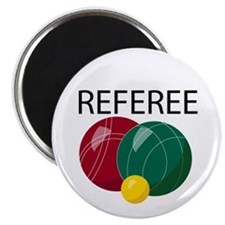 Bocce Ref Magnet