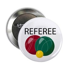 "Bocce Ref 2.25"" Button (10 pack)"