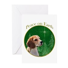Beagle Peace Greeting Cards (Pk of 20)