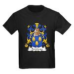 Rondeau Family Crest Kids Dark T-Shirt