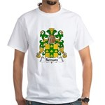 Romain Family Crest White T-Shirt