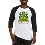 Romain Family Crest Baseball Jersey
