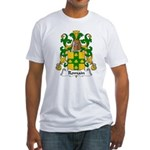 Romain Family Crest Fitted T-Shirt