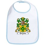 Romain Family Crest Bib