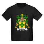 Romain Family Crest Kids Dark T-Shirt