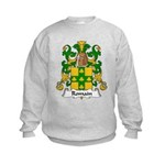 Romain Family Crest Kids Sweatshirt