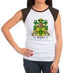 Romain Family Crest Women's Cap Sleeve T-Shirt
