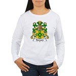 Romain Family Crest Women's Long Sleeve T-Shirt