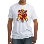 Rollet Family Crest Fitted T-Shirt