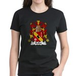 Rollet Family Crest Women's Dark T-Shirt