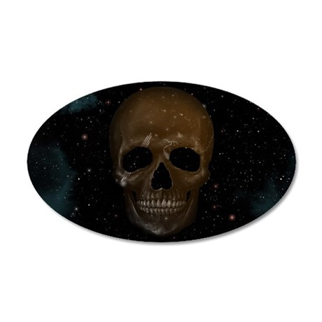 Space Skull Wall Decal