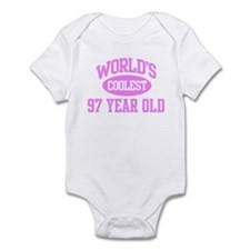 Coolest 97 Year Old Infant Bodysuit