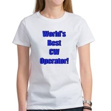 World's Best CW Operator Tee