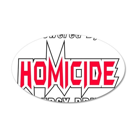 Homicide Energy Drink Silicon Valley Wall Decal