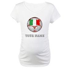 Italy Soccer Ball (Custom) Shirt