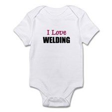 I Love WELDING Infant Bodysuit