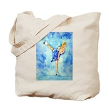 Ice Skater Ice Dreamz Tote Bag
