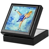 Ice Skater Ice Dreamz Keepsake Box