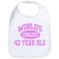 Coolest 42 Year Old Bib