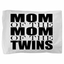 Twins nana Pillow Sham