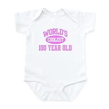 Coolest 100 Year Old Infant Bodysuit