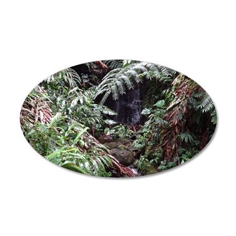 Tropical Forest 08 Wall Decal