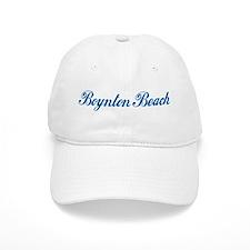 Boynton Beach (cursive) Baseball Cap