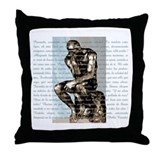 Rodin / Neruda Throw Pillow