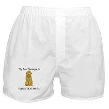 Personalized Goldendoodle Boxer Shorts