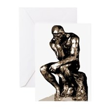 Rodin Thinker Remake Greeting Cards (Pk of 10)