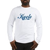 Kyoto (cursive) Long Sleeve T-Shirt