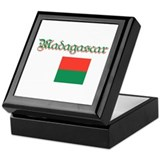 Madagascan Flag Keepsake Box