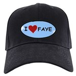I LOVE FAYE Black Cap
