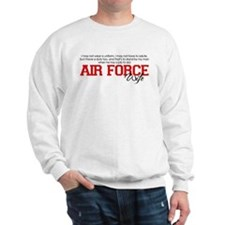 Silent Ranks Air Force Wife Sweatshirt