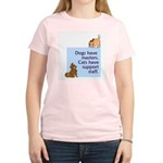 Cats vs. Dogs Women's Light T-Shirt