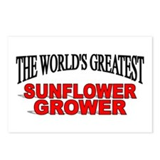 """The World's Greatest Sunflower Grower"" Postcards"