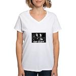 Cat Duet Women's V-Neck T-Shirt