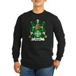 Renier Family Crest Long Sleeve Dark T-Shirt