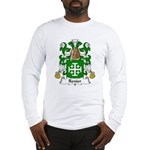 Renier Family Crest Long Sleeve T-Shirt
