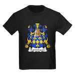 Raimbaud Family Crest  Kids Dark T-Shirt