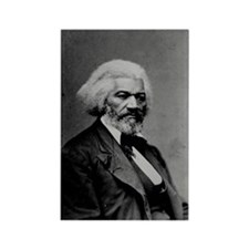Frederick Douglas Rectangle Magnet