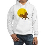 Sunset Horse Hooded Sweatshirt
