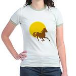 Sunset Horse Jr. Ringer T-Shirt