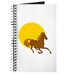 Sunset Horse Journal