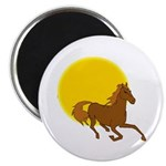 Sunset Horse Magnet