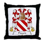 Pinard Family Crest  Throw Pillow