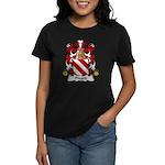 Pinard Family Crest  Women's Dark T-Shirt