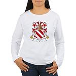Pinard Family Crest  Women's Long Sleeve T-Shirt