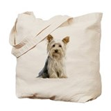 Yorkie Sitting Pretty - Tote Bag