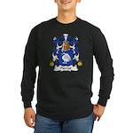 Pierrot Family Crest Long Sleeve Dark T-Shirt